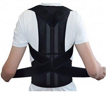 Adjustable Posture Corrector Belt Back Support Brace
