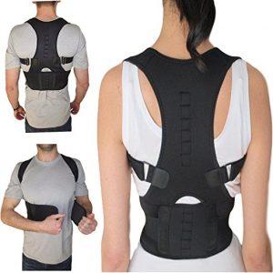 Armstrong Amerika Thoracic Back Brace Magnetic Posture Support Corrector for Back Neck Shoulder Upper Back Pain