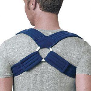 FLA Orthopedics Prolite Deluxe Clavicle Support-Back Posture Braces