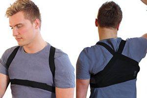 Posture Support Brace Lightweight Corrector for Upper Shoulders Back Clavicle for Men
