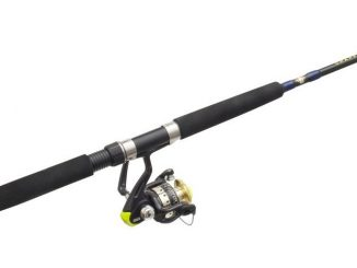 Zebco CRFUL/S802L Spin Fishing Rod and Reel Combo