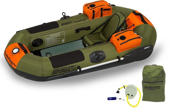 Sea Eagle PF7K PackFish Inflatable Boat Pro Fishing Package