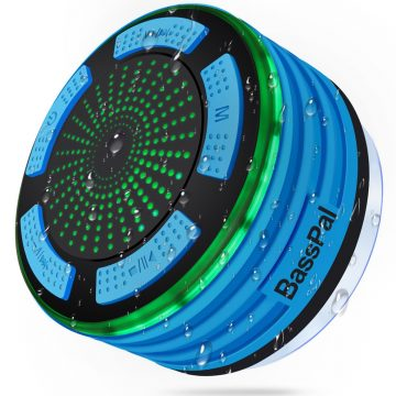 BassPal Shower Speakers