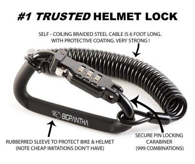 BigPantha Motorcycle Helmet Locks