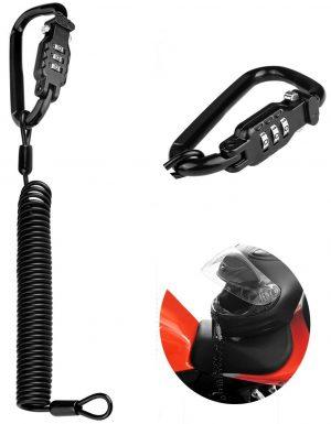 Eco-Home Motorcycle Helmet Locks