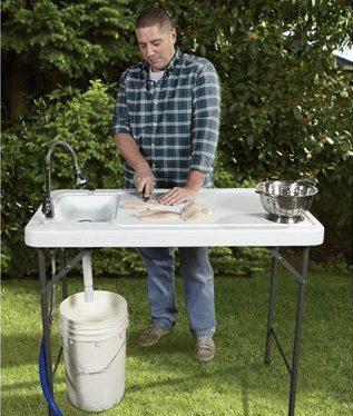 Kotulas Fish Cleaning Tables