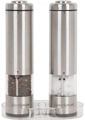 Latent Epicure Pepper Mills