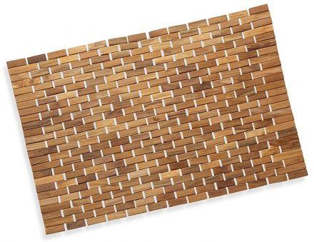 Precision Works Bamboo Bath Mats