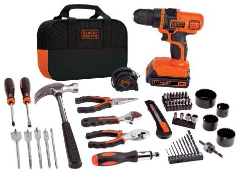 BLACK+DECKER Home Tool Kits