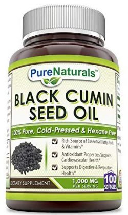 Pure Naturals Black Seed Oils