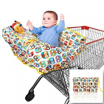 crocnfrog Shopping Cart Covers