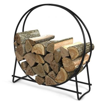 Goplus Outdoor Firewood Racks