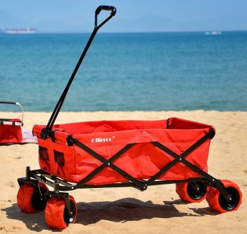 Ollieroo Outdoor Utility Wagon Folding Collapsible Cart 6414c059cd