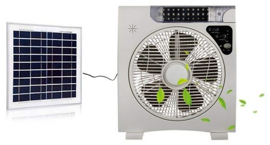 YINGLISOLAR Auto Cool Solar Powered Fan