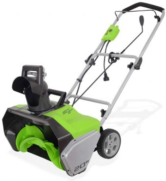 Greenworks-electric-snow-blowers