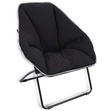 REDCAMP Folding Saucer Chair