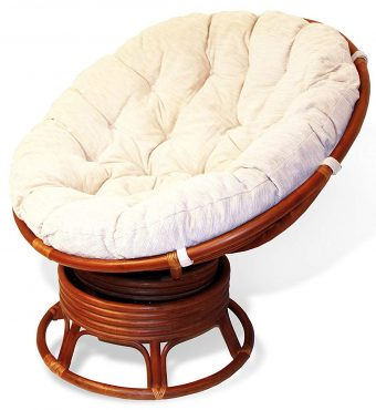 This Double Papasan Chair Comes In A Round Design And Is Available Light Brown Color Handmade Very Strong