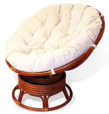 Rattan Wicker Double Papasan Chairs