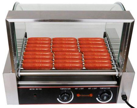 Ridgeyard-hot-dog-rollers