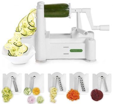 Spiralizer-vegetable-slicers