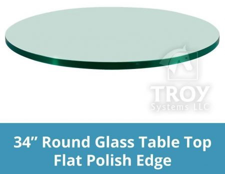TroySys Round Glass Dining Tables