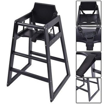 Apontus Wooden High Chairs