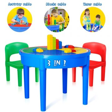 EP EXERCISE N PLAY Lego Table with Storage