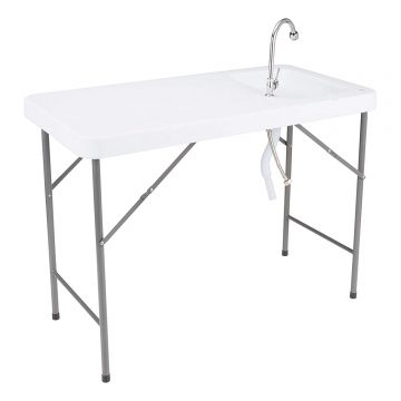Norwood Fish Cleaning Tables