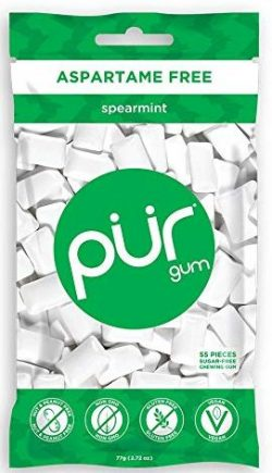 PUR Gum Without Aspartames
