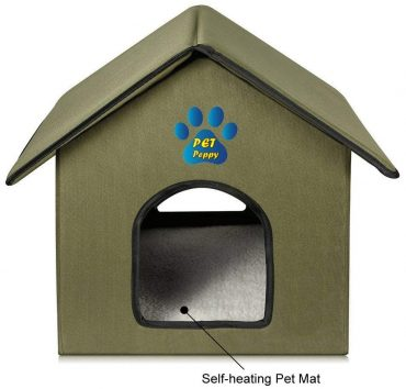 Pet Peppy Outdoor Cat Houses