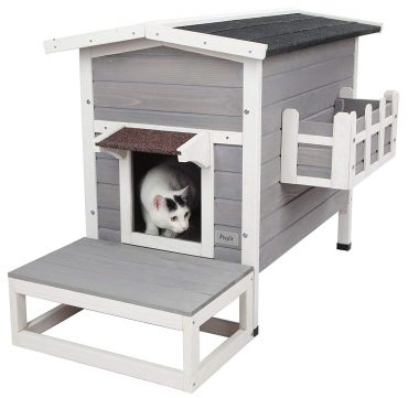 Petsfit Outdoor Cat Houses