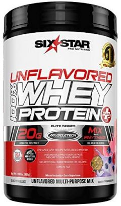 Six-Star-unflavored-protein-powders