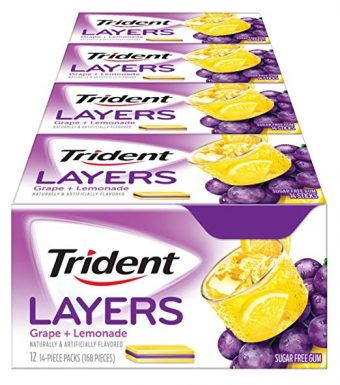Trident Gum Without Aspartames