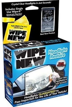 Wipe New Headlight Restoration Kits