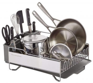 Top 10 Best Stainless Steel Dish Drying Racks in 2019