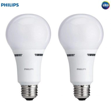 Philips 3-Way LED Light Bulbs