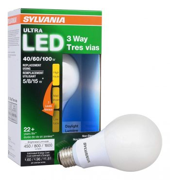 SYLVANIA 3-Way LED Light Bulbs