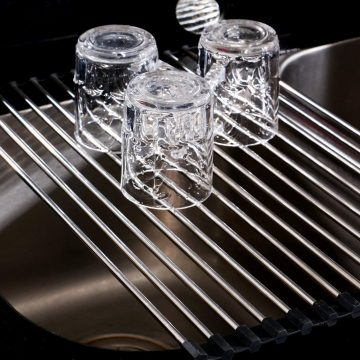THETIS Homes Stainless Dish Drying Racks