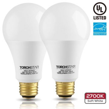 TORCHSTAR 3-Way LED Light Bulbs