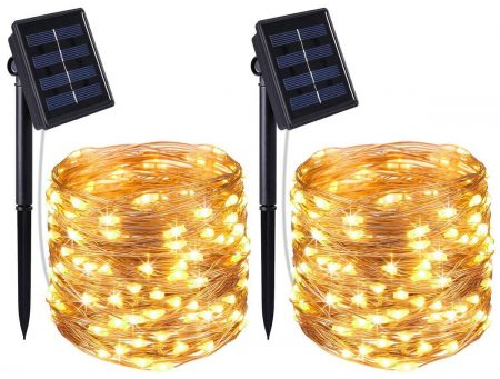 AMIR Solar Rope lights