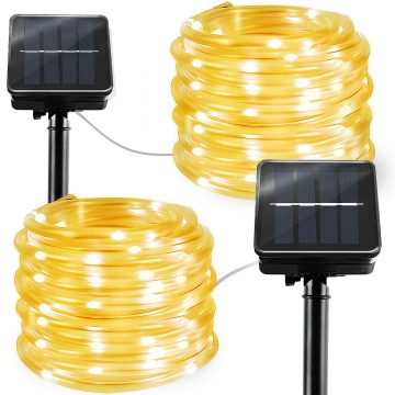BBOUNDER Solar Rope lights