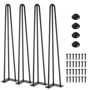 SMARTSTANDARD Metal Table Legs