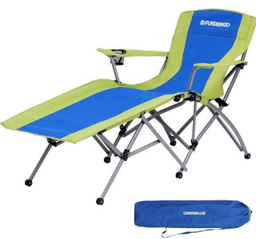 FUNDANGO Camping Chair with Footrests