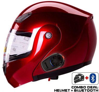 IV2 Bluetooth Motorcycle Helmets