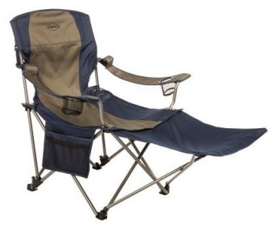 Kamp-Rite Camping Chair with Footrests