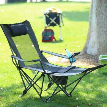 OUTDOOR LIVING SUNTIME Camping Chair with Footrests