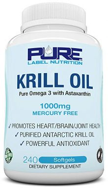 Pure Label Nutrition Krill Oils