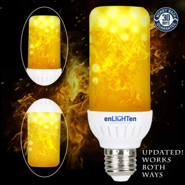 enLIGHTen LED Flame Bulbs
