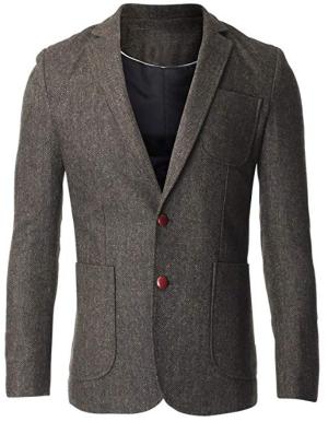 FLATSEVEN Tweed Jackets for Men