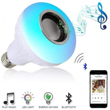 Creazydog Bluetooth Light Bulb Speakers